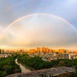 冲上全国热搜的成都彩虹